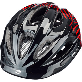 Rudy Project Rocky Casque Enfant, black-red shiny